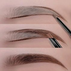 Eyes Makeup Eyebrow Pencil Waterproof Natural Long Lasting Ultra Fine Sketch Tint Brow Eye Brown Brows Professional Pen - 3 Dimensional Marketing PTE LTD Eyebrow Makeup Tips, Natural Eye Makeup, Eyebrow Pencil, Makeup Case, Beauty Makeup, Filling In Eyebrows, Thin Eyebrows, Perfect Eyebrows, Plucking Eyebrows