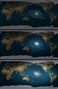 Where the continent of Mu was located