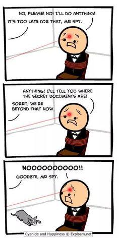 Sorry, Mr. Spy