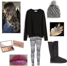 """Snowy winter day"" by rachel-starr-johnston on Polyvore"