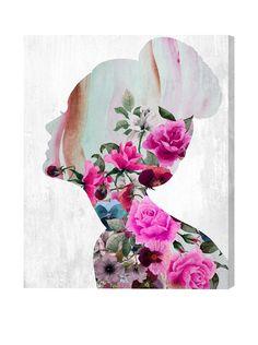 """Oliver Gal Artist Co. Flower Built, Multi, 24"""" x 20"""", http://www.myhabit.com/redirect/ref=qd_sw_dp_pi_li?url=http%3A%2F%2Fwww.myhabit.com%2Fdp%2FB00S64XMHU%3F"""