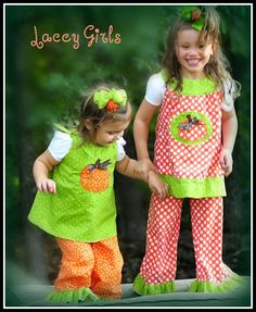 Ruffle Pants SEWING TUTORIAL, PDF instructions for Girls pants and capris