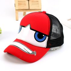 Children Baseball Cap Summer Cartoon Car Cap Kids Hip Hop Sun Hat Boys  Girls Snapback Mesh eb365f07ebe5