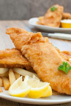Homemade Beer Battered Fish - Perfect Recipe For Fish & Chips