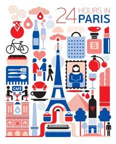 24 hours in Paris. It's gonna happen. :)