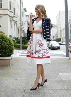 058bf36ac21 Karen Millen White Floral Ribbon Applique Fit Flare Midi Party Dress 16 44  DV153  KarenMillen  ALineDress  Party