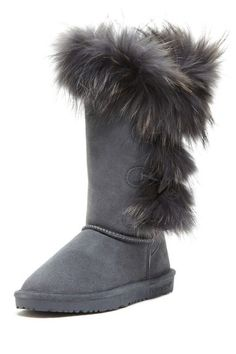 Love my Bearpaw boots, but I really want these ones also.