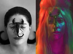 Scorpion Lady Gaga and Marina Abramovic