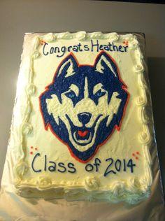 New Husky Uconn cake