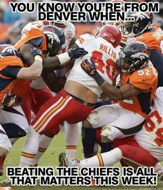 I'm not from Denver however this is the priority of the week regardless =)