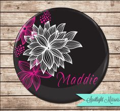 Personalized Bridesmaids Compact Mirror by SpotlightMirrors