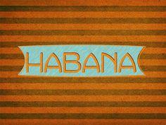 Retro design Havana