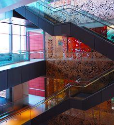 U Of U Skaggs Pharmacy Metal Wall Panels Curtain Wall