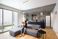 シャープな外観にシックモダンなインテリアが格好いい家|施工実績|愛知・名古屋の注文住宅はクラシスホーム
