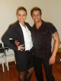 Eu e meu Amigo Maquiador Ricardo dos Santos