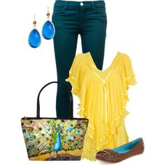 """""""Peacock Bag"""" by lovesdelight on Polyvore"""