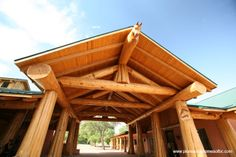 Pioneer Log Homes gallery of images of handcrafted western red cedar log homes and log cabins. Barn Pictures, Home Pictures, Williams Lake, Cedar Log, Log Cabin Homes, Log Cabins, Dream Barn, Entry Foyer, Garages