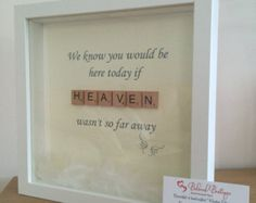Mothers Day scrabble frame by MyBelovedBoutique on Etsy