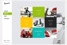 Vespa - Responsive Redesign on Web Design Served