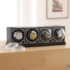 Watch Winders Set with Power Base