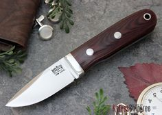 The BARK RIVER KNIVES: City Knife - CPM S35VN - Maroon Linen Micarta, IN STOCK at Knives Ship Free. All Bark River Knives are backed by a strict no-questions-asked lifetime warranty.