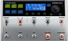 TC Helicon Vocal Live 3 Vocal Effects $649.00