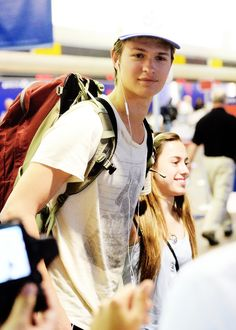 Ansel always looks great!!