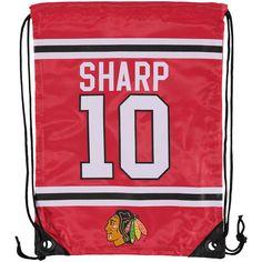 Patrick Sharp Chicago Blackhawks Player Elite Drawstring Backpack -