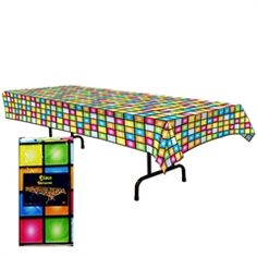 Disco Party Table Cover from Windy City Novelties