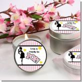 Ready To Pop Pink - Baby Shower Candle Favors! You can order these favors in pink, blue or red!