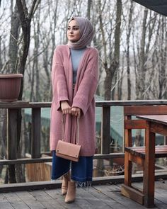 How To Style Hijab Looks With Your Favorite Ankle Boots Hijab Style, Casual Hijab Outfit, Hijab Chic, Hijab Dress, Muslim Fashion, Modest Fashion, Hijab Fashion, Fashion Outfits, Outfit Look