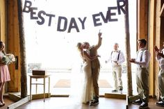 "Love this so much! ""Best Day Ever"" {Laura Murray Photography} #cute"