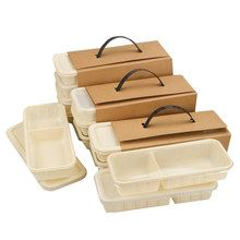 Disposable tableware Kraft Paper lunch box with transparent lid Sushi Salad Cake _ {categoryName} - AliExpress Mobile Version - Salad Packaging, Takeaway Packaging, Bakery Packaging, Food Packaging Design, Packaging Design Inspiration, Disposable Food Containers, Disposable Tableware, Coffee Shop Design, Cafe Design