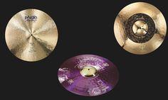 NAMM 2016: Paiste hat drei neue Signature Ride Cymbals im Programm