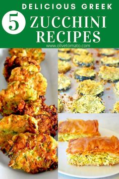 Must try delicious Greek Mediterranean Zucchini recipes. Scrumptious recipes that you will make over and over again. #greek #mediterranean #Easy #recipes #zucchini Side Dish Recipes, Vegetable Recipes, Vegetarian Recipes, Cooking Recipes, Easy Recipes, Keto Recipes, Healthy Recipes, Baked Vegetables, Low Carb Vegetables