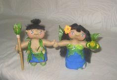 Hawaiian Ooak Art Dolls: Pono and Puli (Harmony and Blessing) The Power of Ho'oponopono