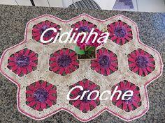 Croche-Caminho Mesa Sextavado-Passo A Passo-Parte 3/3 - YouTube