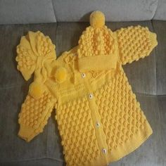 Diy Crafts - Diy Crafts - Enjoy the videos and music you love, upload original content, and share it all with friends, family, and the world on YouTub Knitting Patterns For Dogs, Ladies Cardigan Knitting Patterns, Knitted Baby Cardigan, Baby Hats Knitting, Knitted Hats, Diy Crafts Knitting, Diy Crafts Crochet, Dress Design Patterns, Baby Patterns