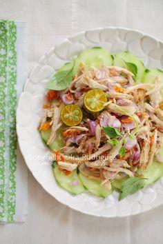 AYAM SAMBAL MATAH (chicken with raw shallot and lemongrass sambal) [Indonesia, Bali] [cookingtackle]