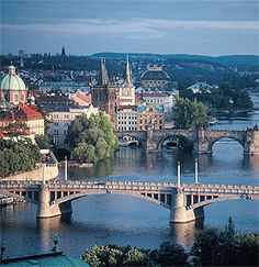 Prague - wonderful city with architecture ranging from medieval to art deco