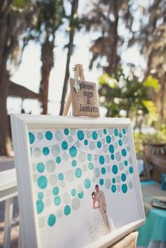 Write On! 14 Creative Wedding Guest Book Ideas via Brit + Co.