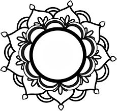 Image result for lotus tattoo black and white