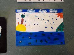Lina: eu fiz essa paisagem