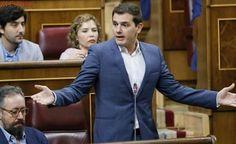 Rivera responde al PSOE que no reformará la Constitución para agradar al nacionalismo