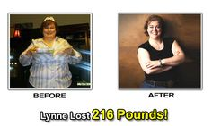 Read Lynne's inspirational weight loss success story. She lost an amazing 216 pounds!