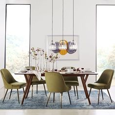 Spirit of Forest Dining Table by Ligne Roset Modern Dining Tables Los Angeles Small Living Room Design, Dining Room Design, My Living Room, Dining Room Table, Dining Chairs, Dining Set, Console Table, Kitchen Design, Expandable Dining Table