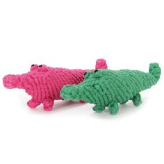 Alligator Cotton Rope Dog Toy by Harry Barker -Glamour Mutt