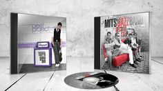 CD cover layout Mits Jazz Band Peet Project