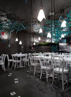 Pop-Up Restaurant in NY | Interior Architecture Design in Restaurants