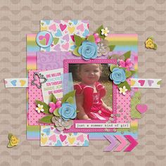 kit: Girls of Summer by Heather Roselli http://www.sweetshoppedesigns.com/sweetshoppe/product.php?productid=31185&cat=757&page=2  template by Cindy Schneider